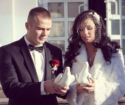 макс корж с женой фото
