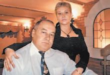 Игорь Маменко, жена