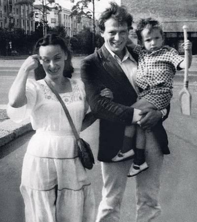 Вадим Андреев, жена