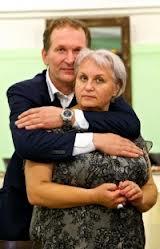 Федор Добронравов, жена