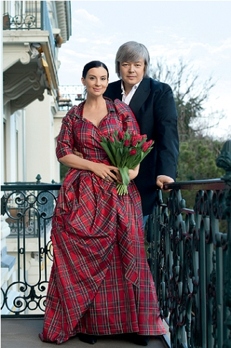 Екатерина Стриженова, муж