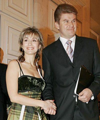 Дмитрий Губерниев, жена