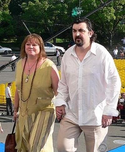 Игорь Золотовицкий, жена
