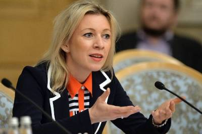 Мария Захарова, муж