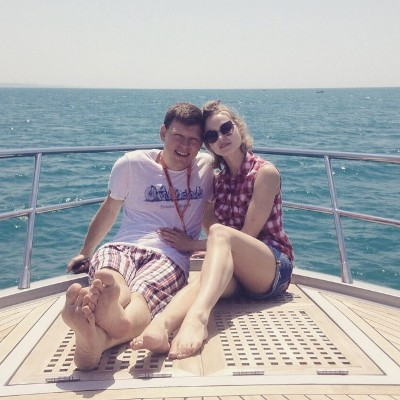 Анна Бегунова, муж
