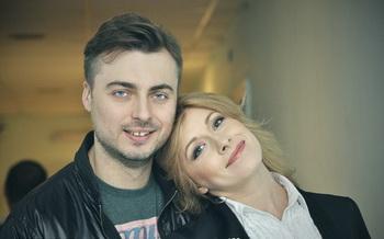 Елена Кравец, муж