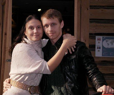 Александр Стекольников, жена
