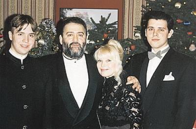 Михаил Шуфутинский, жена