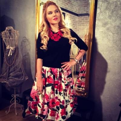 Екатерина Веселкова, муж