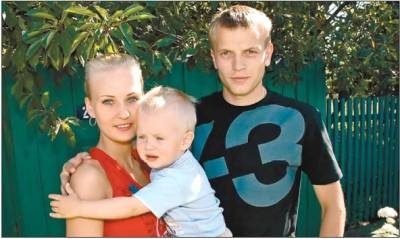 Олег Гусев, жена