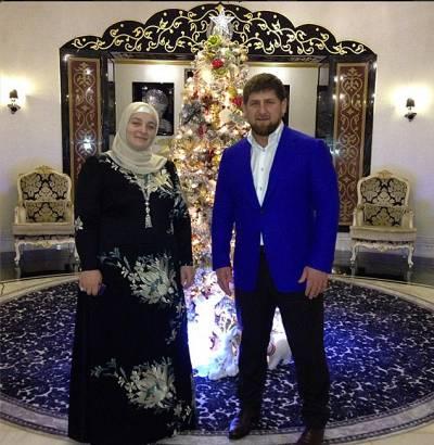 Рамзан Кадыров, жены