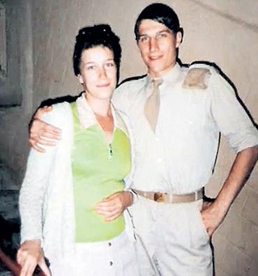 Сергей Угрюмов, жена