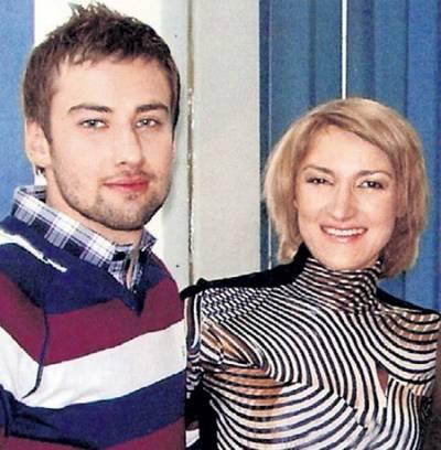 Дмитрий Шепелев, жена