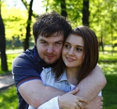 Аня Руднева, муж
