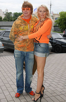 Андрей Григорьев-Аполлонов, жена