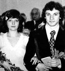 Николай Фоменко, жена