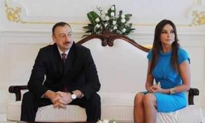 Ильхам Алиев, жена