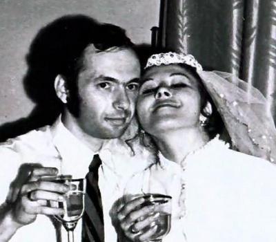 Любовь Успенская, муж