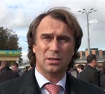 Сергей Лисовский, жена