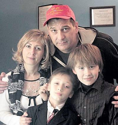 Ярослав Бойко, жена
