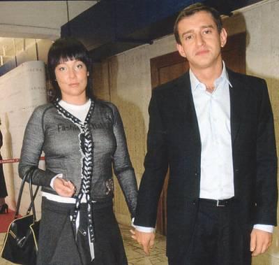 Константин Хабенский, жена