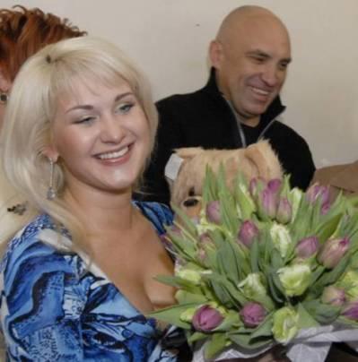 Катя Бужинская, муж