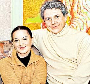 Ольга Будина, муж