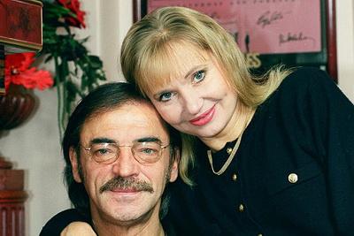 Михаил Боярский, жена