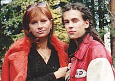 Александр Толмацкий, жена