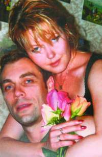 Михаил Хмуров, жена
