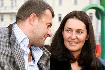 Михаил Пореченков, жена