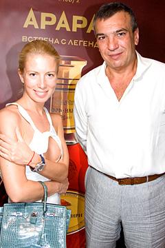 Светлана Захарова, муж