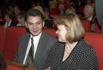 Сергей Шойгу, жена