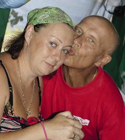 Мария Аронова, муж