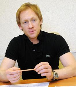 Игорь Зеленский, жена