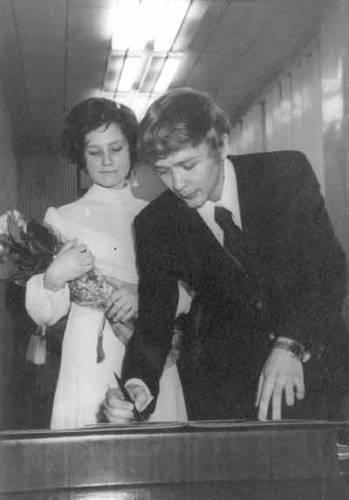 Сергей Проханов, жена