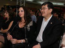 Игорь Ким, жена