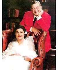 Радж Капур, жена