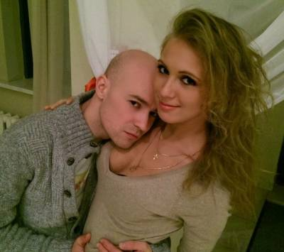 Илья Подстрелов, жена