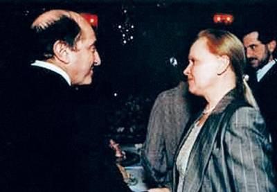 Борис Березовский, жены