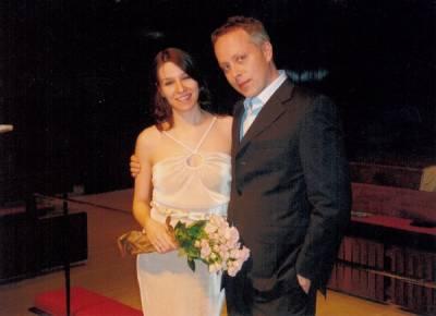 Мария Литинецкая, муж