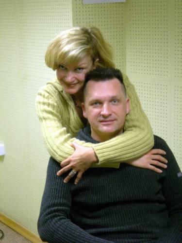 Сергей Лемох, жена