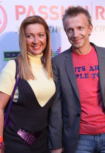 Антон Комолов, жена