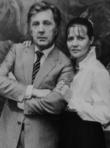 Илья Глазунов, жена