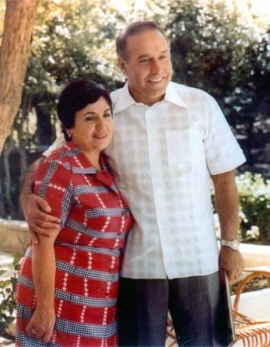 Гейдар Алиев, жена