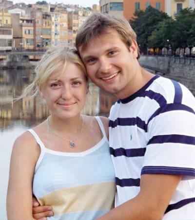 Владимир Фекленко, жена