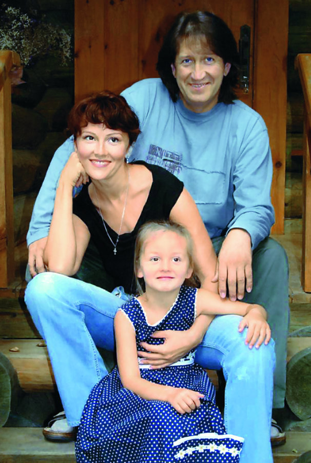 Жена Олега Митяева Марина Есипенко - фото, дети