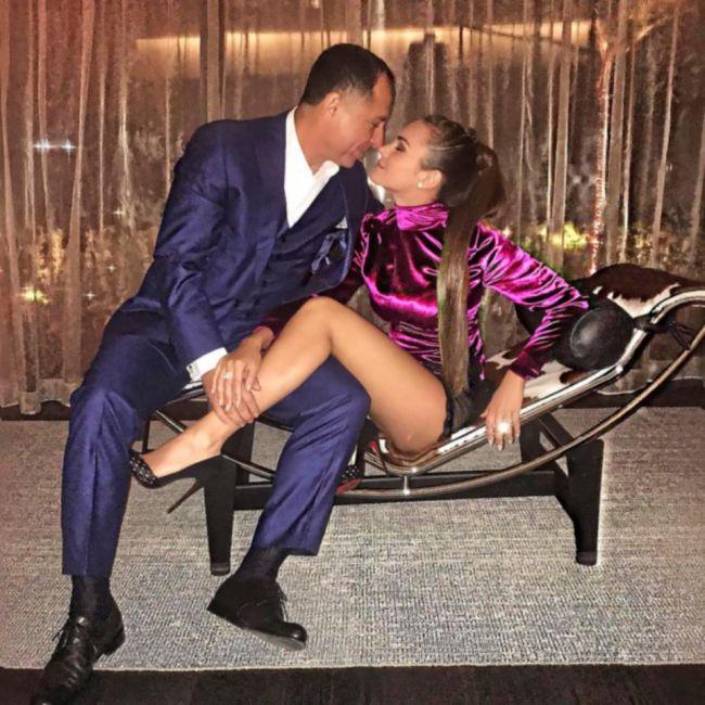 Ксения Дели и ее муж египетский миллиардер