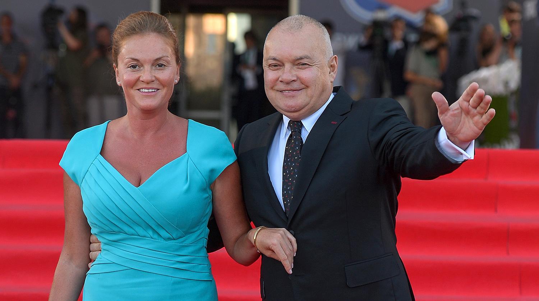Жена Дмитрия Киселева, Мария - фото