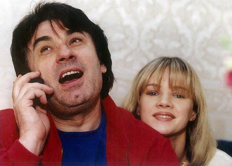 серов александр с женой фото
